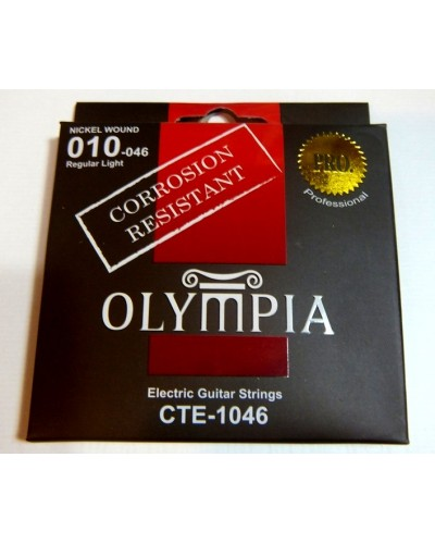 Olympia Nickel Wound Electric guitar strings(Corrosion resistant)