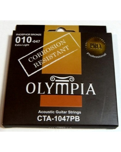 Olympia Bronze Wound Acoustic Guitar Strings(Corrosion Resistant)