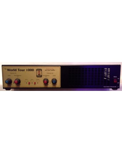David Eden WT-1000 World Tour 1000 Watt Stereo Power Amplifier WT1000