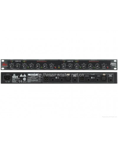 DBX compressor gate 266xl