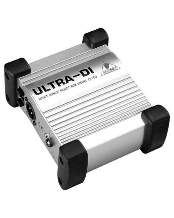 Behringer ULTRA-DI DI100 Direct Box  (USED)