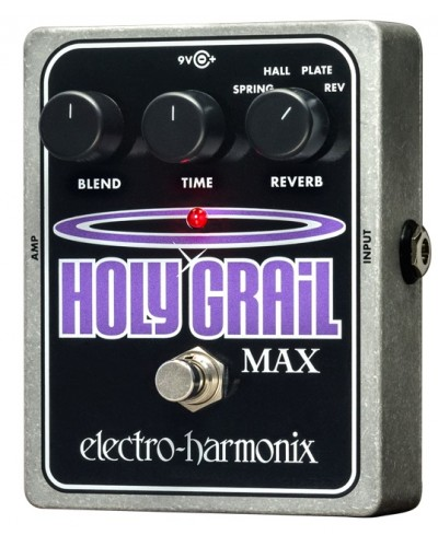 Electro-Harmonix Holy Grail Max Reverb Pedal (USED)